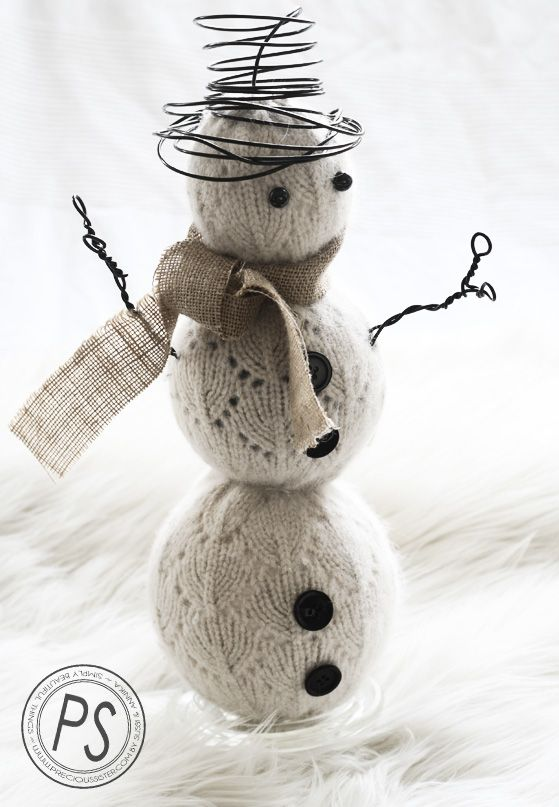 """Precious Sister: FROSTY THE """"SWEATER"""" SNOWMAN"""