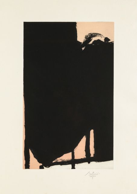 Robert Motherwell, 'Elegy Fragment II,' 1985, Christopher-Clark Fine Art