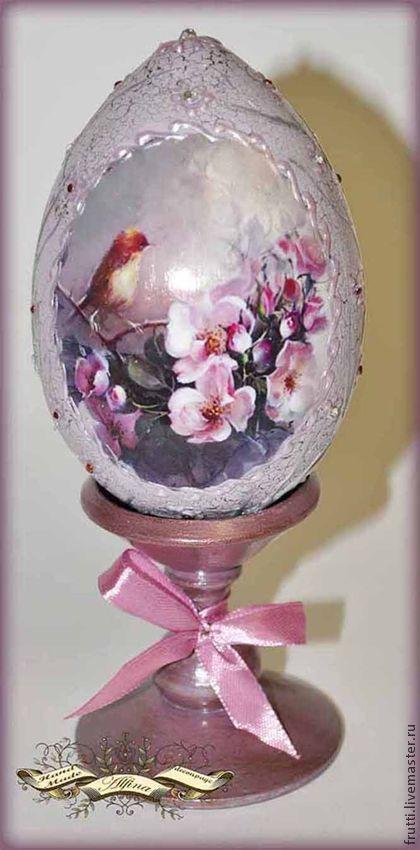 """Подарки на Пасху ручной работы. Ярмарка Мастеров - ручная работа Пасхальное яйцо """"Весенний цвет"""". Handmade."""