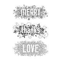 Seasonally Scattered Clear-mount Stamp Set