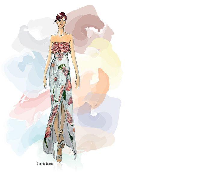 Pantone's Fashion Color Report Spring 2015 - Dennis Basso