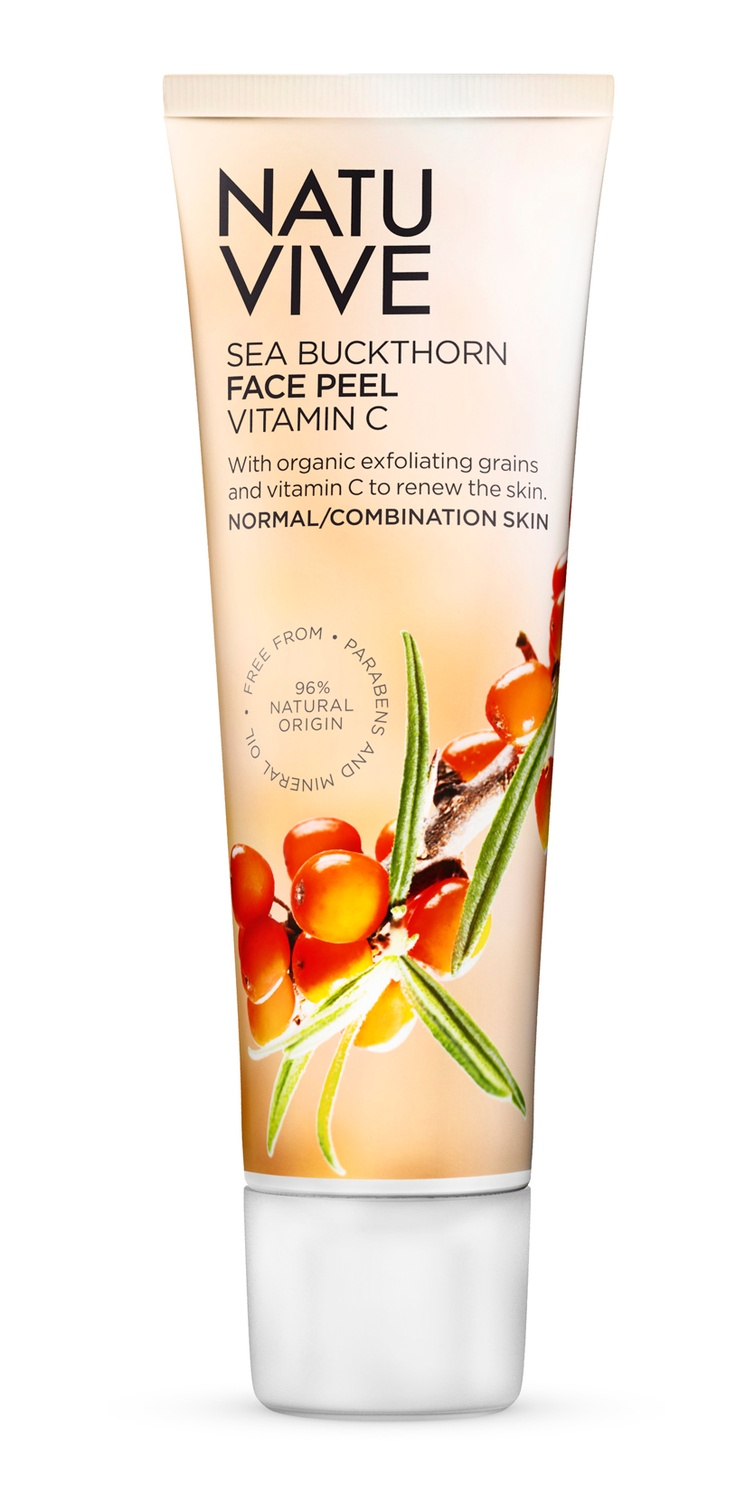 NATUVIVE Sea Buckthorn Face Peel Vitamin C