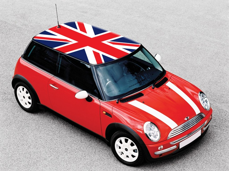 England Flag Flags On Mini Cooper Roof Pinterest