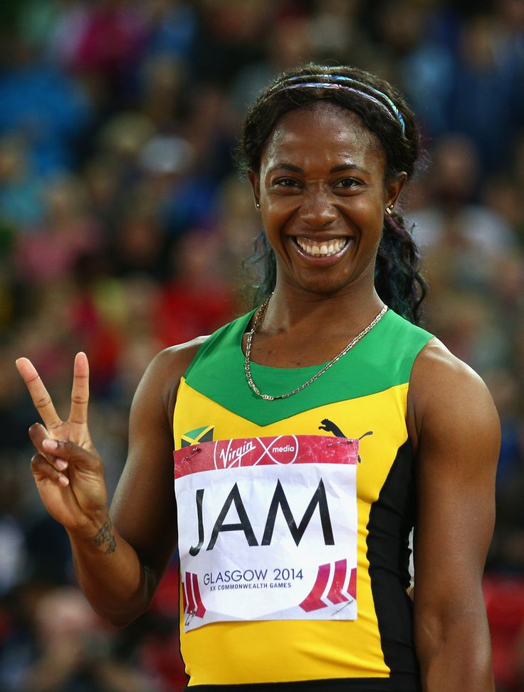Shelly-ann Fraser-Pryce of Jamaica