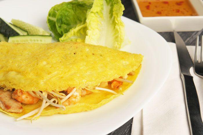 Báhn xèo / Crepe vietnamita