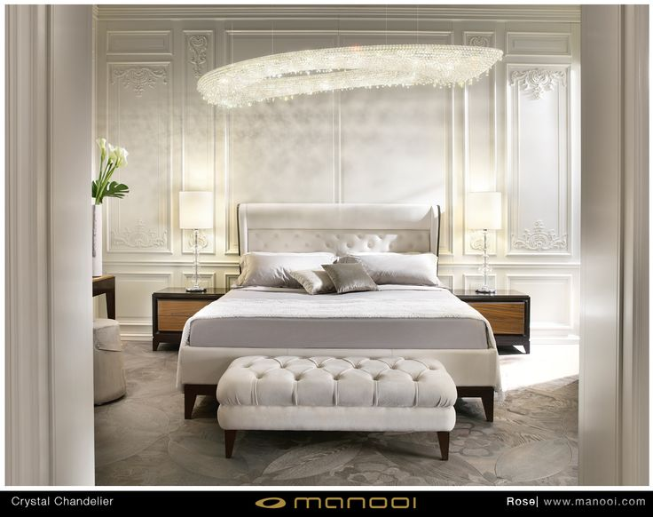 Rose crystal chandelier #Manooi #Chandelier #CrystalChandelier #Design #Lighting #Rose #luxury #furniture #interior