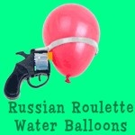 Balloon roulette game