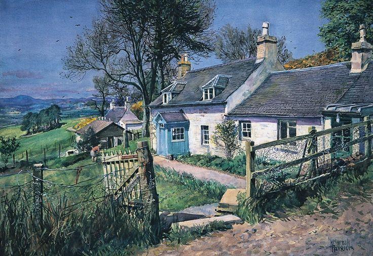 James McIntosh Patrick Tullybaccart Farm Open Edition Print | Scottish Contemporary Art