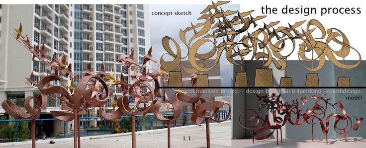 zenithdesign artwork for ancol mansion jakarta