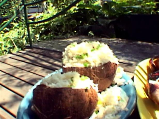 Get Coconut-Cashew Basmati Rice Salad Recipe from Food Network