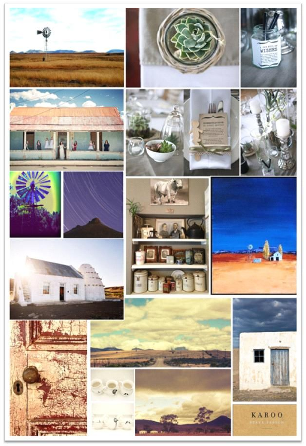 Into the Karoo | Style Inspiration Moodboard