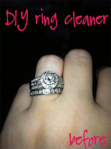 17 Best ideas about Ring Cleaner on Pinterest | Clean rings, Clean jewelry  and Homemade ring cleaner