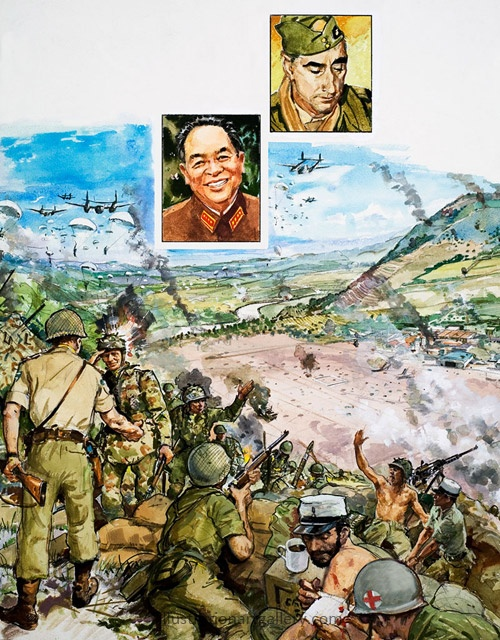 The Vietmanese victory over the French at Dien Bien Phu.  The end of French colonialization of Vietnam.