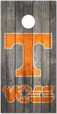 Tennessee Vols Weatherd Wood Cornhole Wrap Bag Toss Skin Decal Sticker Wraps