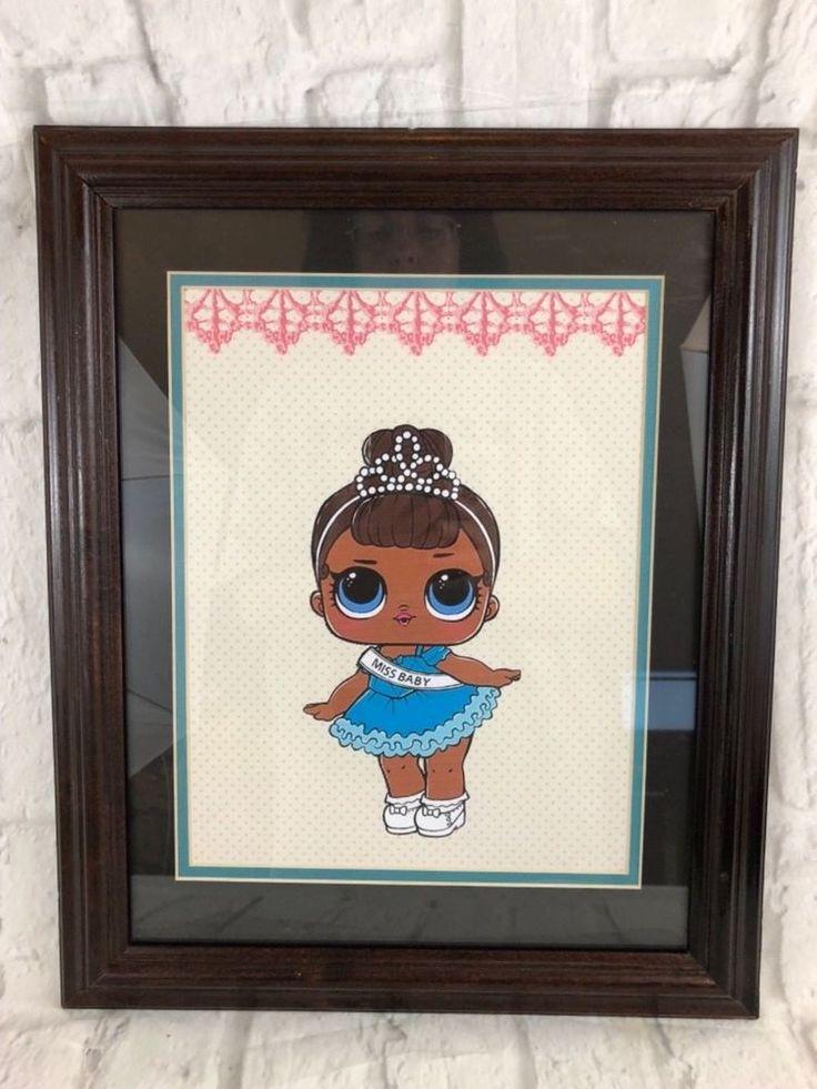 LOL Doll MISS BABY Framed Wall Art New Bedroom Nursery Playroom   Baby, Nursery Décor, Wall Décor   eBay!