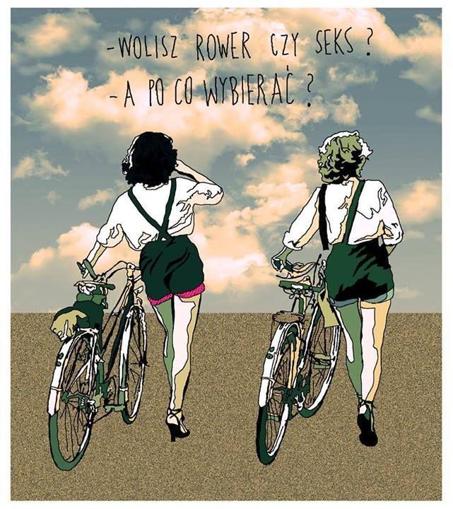 SPRING TIME  - You prefer bike or sex? - Why choose?