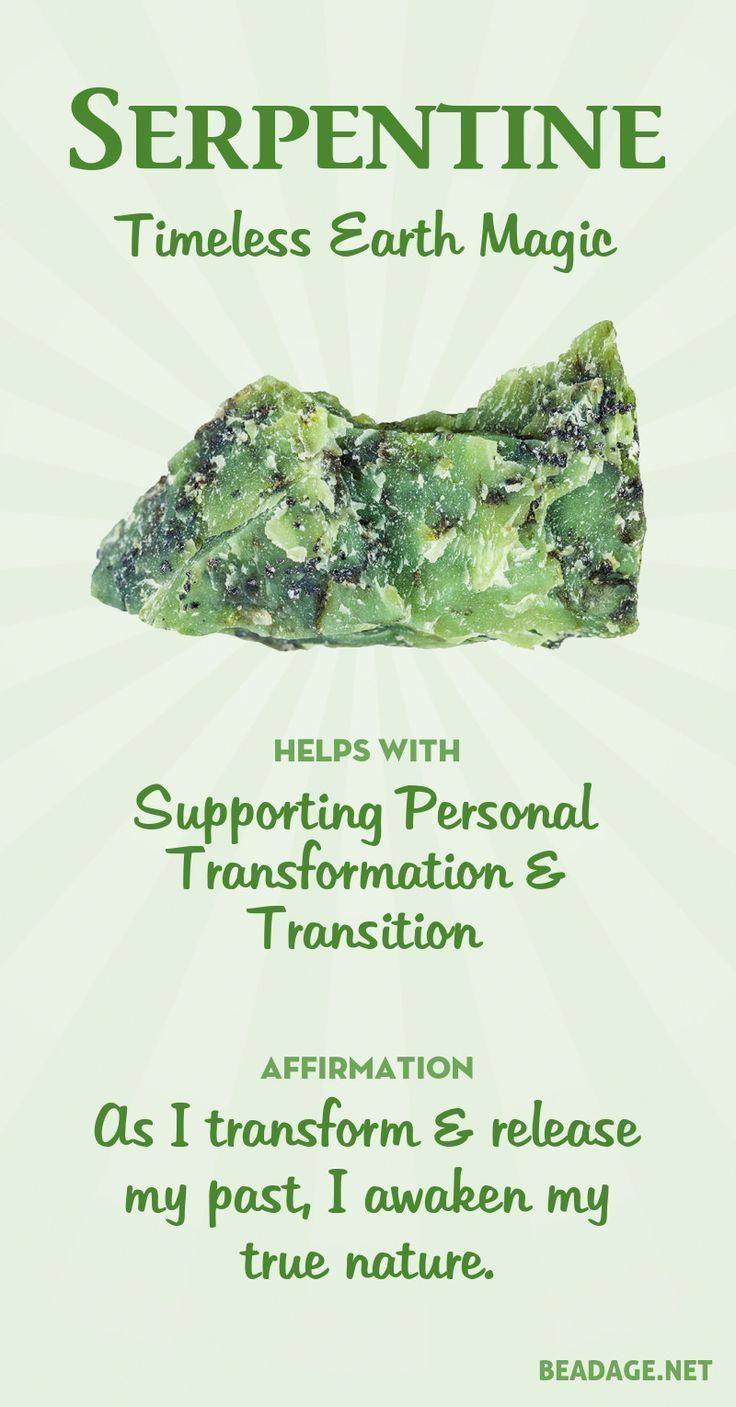 Serpentine Meaning & Healing Properties  | Serpentine is