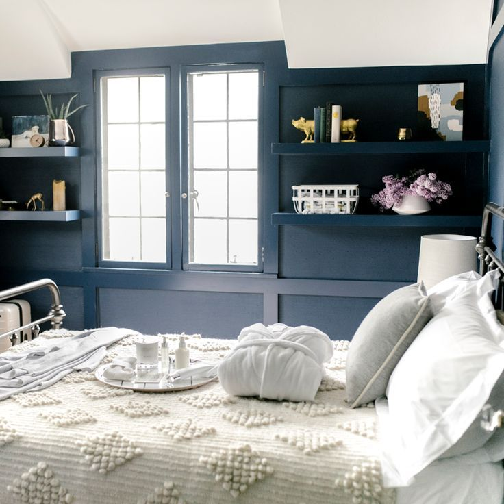 Bedroom Paint Ideas Two Tone Minimalist Bedroom Art Black Bedroom Accent Wall Colours For Small Bedroom Walls: 25+ Best Ideas About Dark Bedrooms On Pinterest
