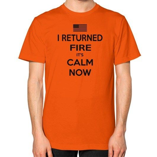 'I RETURNED FIRE' T-Shirt