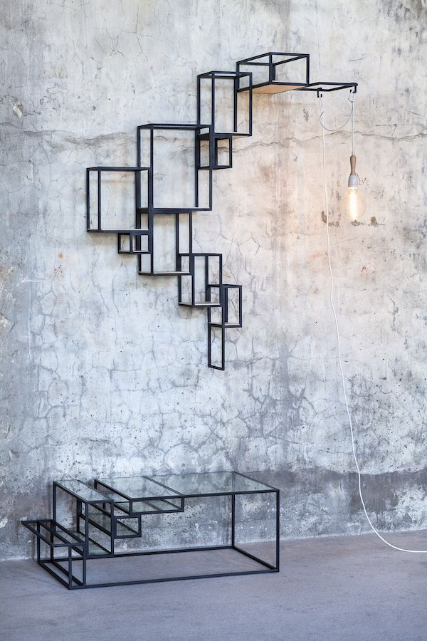 vosgesparis: Flexit X Jointed by Serax   Furniture with steal constructions