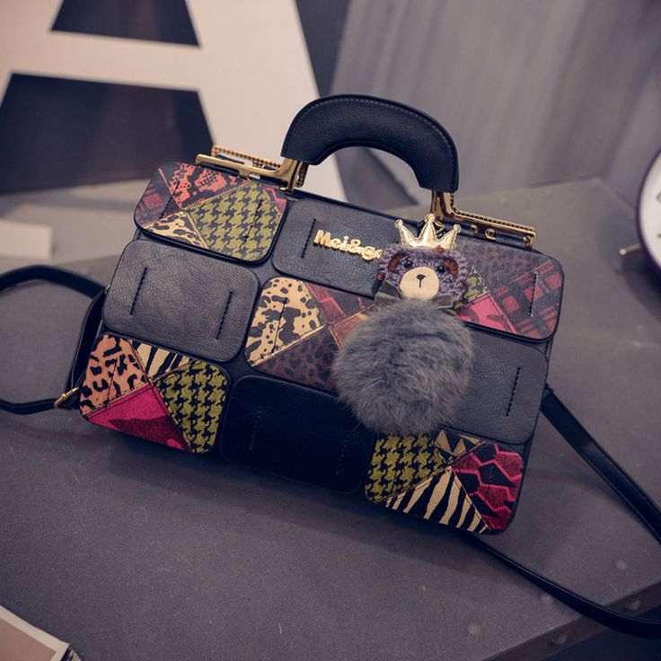 High Quality Vintage Men Crossbody bags Sholder Bag Canvas Leather Satchel Military Bag  Brand Men's Messenger Bags