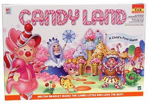 Candyland! (Glad to discover this game is alive & well!)