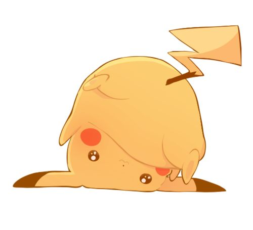 anime Pikachu assdfnoishdg so cute :3