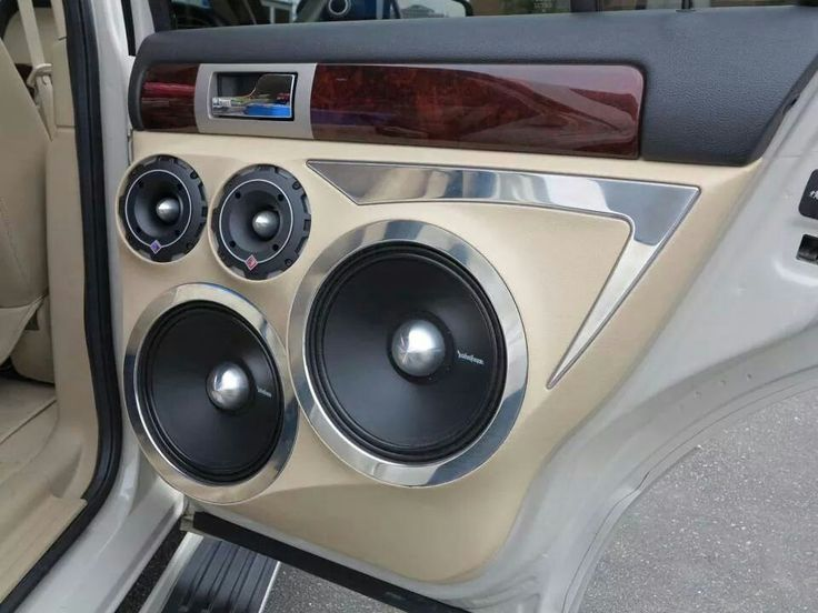Large Door Speakers Car Audio Pinterest Doors And