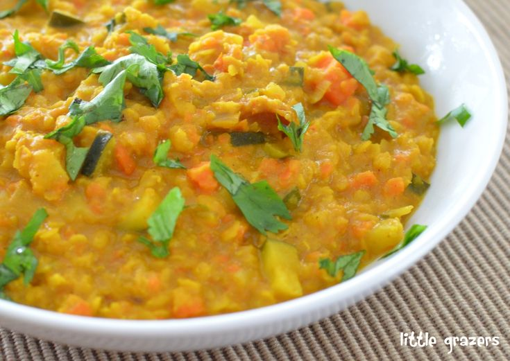 Red Lentil Curry - one of my toddler's favorite recipes (without the ...