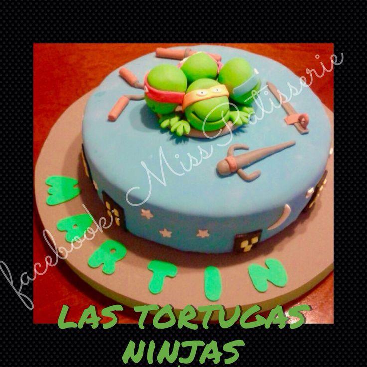 Torta de Las tortugas ninjas. Teenage Mutant Ninja Turtles's cake