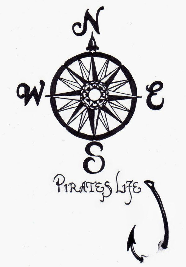 pirates life for me tattootattoo compi tattoo ideas by kathy holloway tghwrafy compass fishing. Black Bedroom Furniture Sets. Home Design Ideas