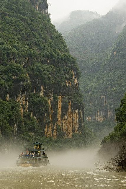 Lesser Three Gorges, Yangtze River, China #wanderlust #travel