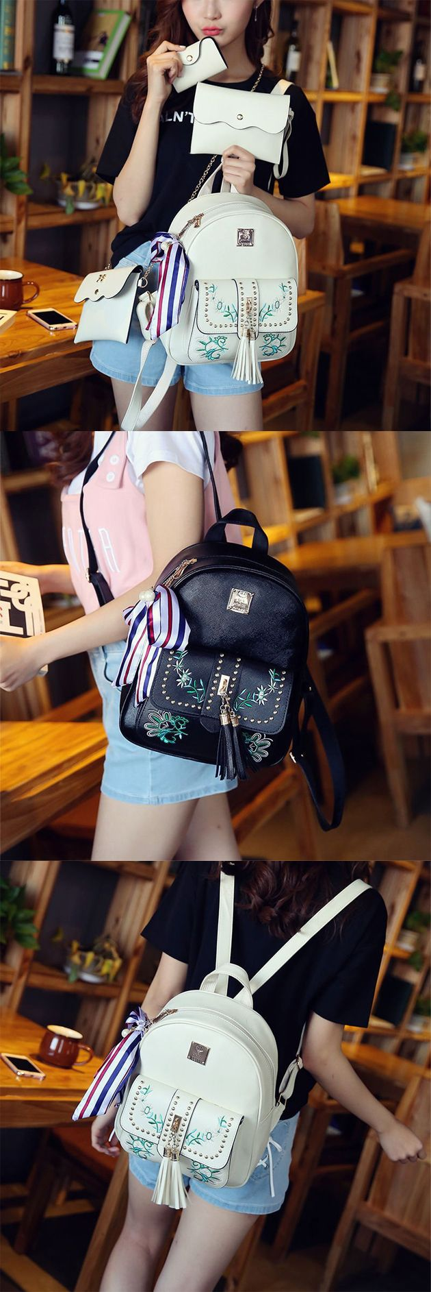 Sweet Leaves Embroidery Tassel Rivets Flowers PU School Backpack for Girls backpack men fashion,backpack men fashion style,backpack men fashion canvases,backpack men's laptop,school bags,school bags tote handbags,school bags tote style,school bags for teens,school bags for teens backpacks,school bags for teens backpacks student,school bags for teens backpacks black,school bags for teens backpacks casual,school bags for teens backpacks vintage,school bags for teens handbags,