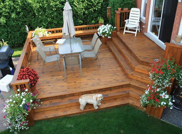 121 best Outdoors on the Deck images on Pinterest | Deck patio ...