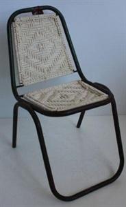 Rope Vintage Stacking Chair White Orson U0026 Blake