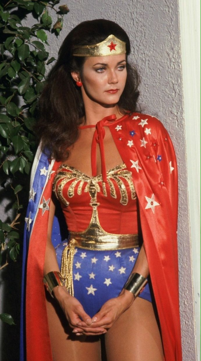 Lynda Carter Wonder Woman Cape