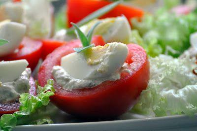 Szybko Tanio Smacznie: Pomidory z farszem tuńczykowym