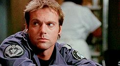Daniel Jackson disapproves of your behavior. Shame on you. | Stargate SG-1.