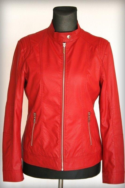 Bőrdzseki - Fiatalos tavaszi dzsekik :: Ruhakirály női molett ruha Webshop