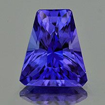 Tanzanite, American Cut Gemstones | Buy natural loose #gemstones online at mystichue.com