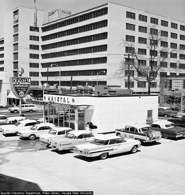 Krystal Restaurant, Atlanta, Georgia, 1960s