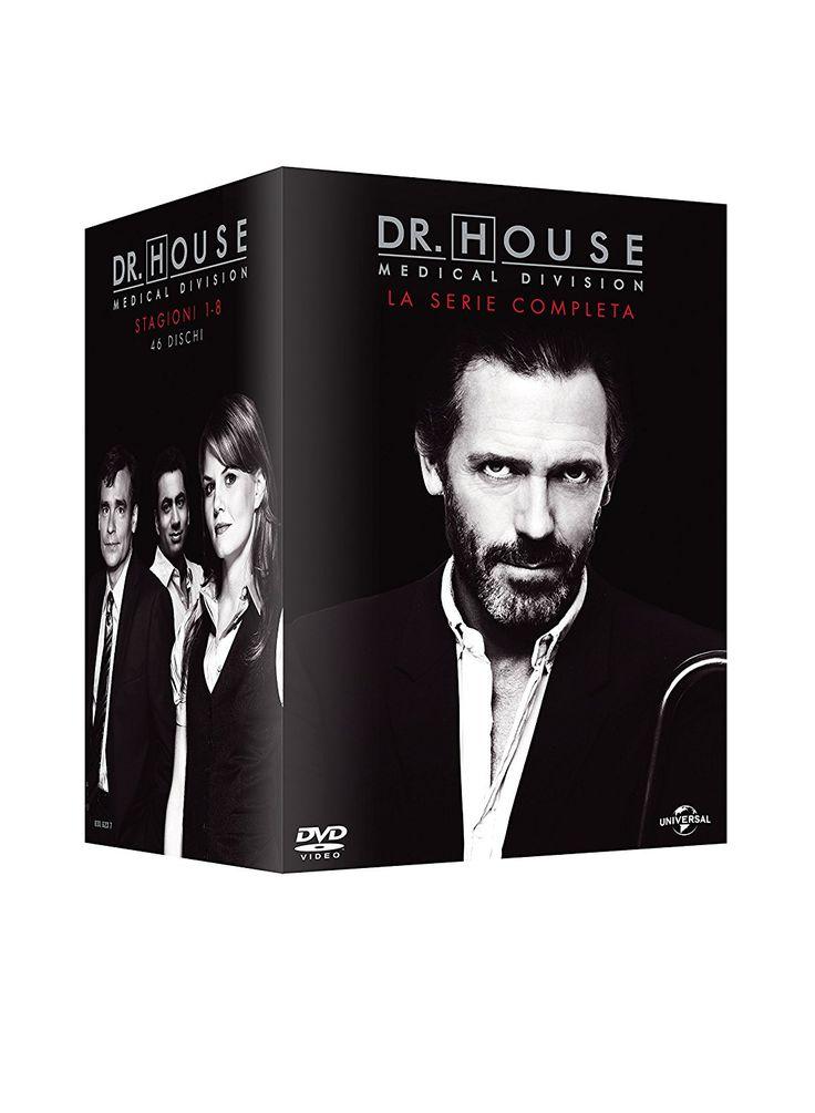 Amazon.it | Dr. House: Stagione 1-8 (Cofanetto 46 DVD): Acquista in DVD e Blu ray