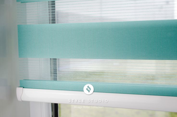 Style Studio Mirage Roller Blind in an open position