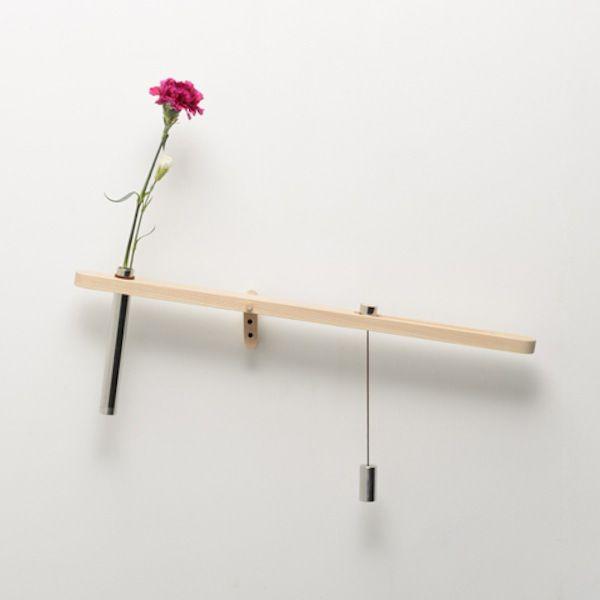 Water Balance Flower Vase by Design Soil