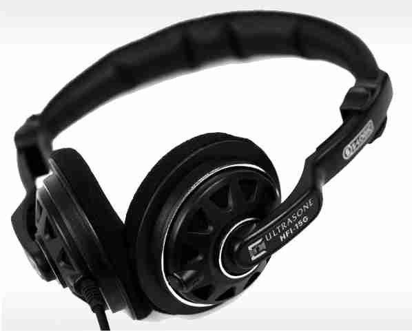 40mm Semi Open Back Headphones