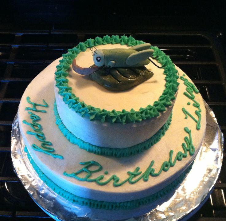 Grasshopper Cake Topper