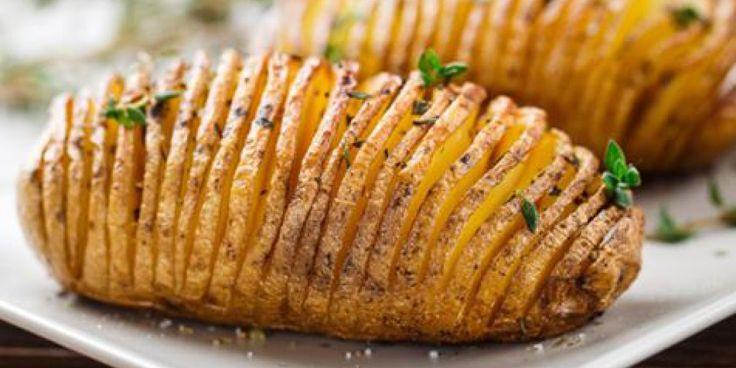 Batata fatiada ao forno incrivelmente gostosa | Dicas & Receitas