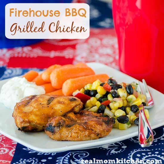 Firehouse BBQ Grilled Chicken