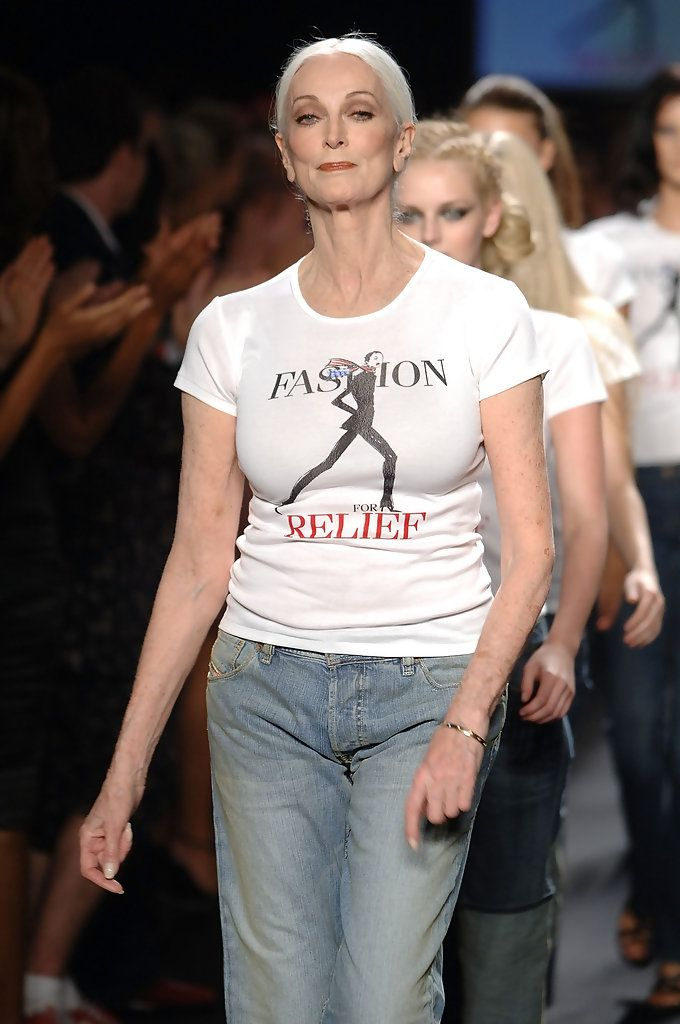 Carmen Dell'Orefice Photos: Fashion For Relief - Runway