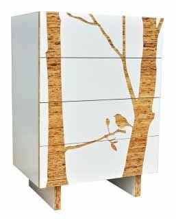 birds, mid-century, , design trend, furniture, wood,decor, veneer
